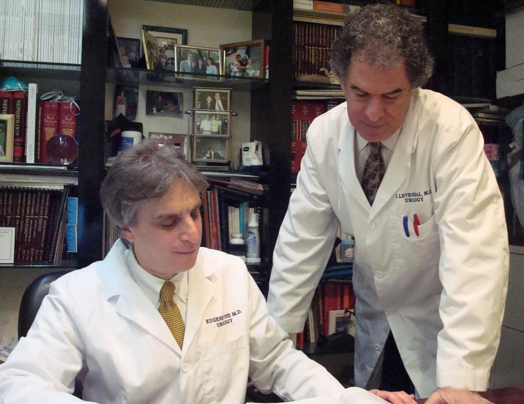 Photo of Doctors Eugene Fine & Irwin Leventhal